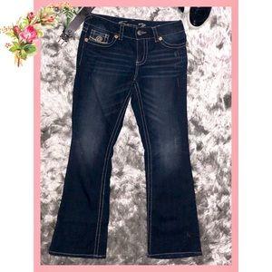 🌸 Seven 7 Bootcut Dark Blue Jeans